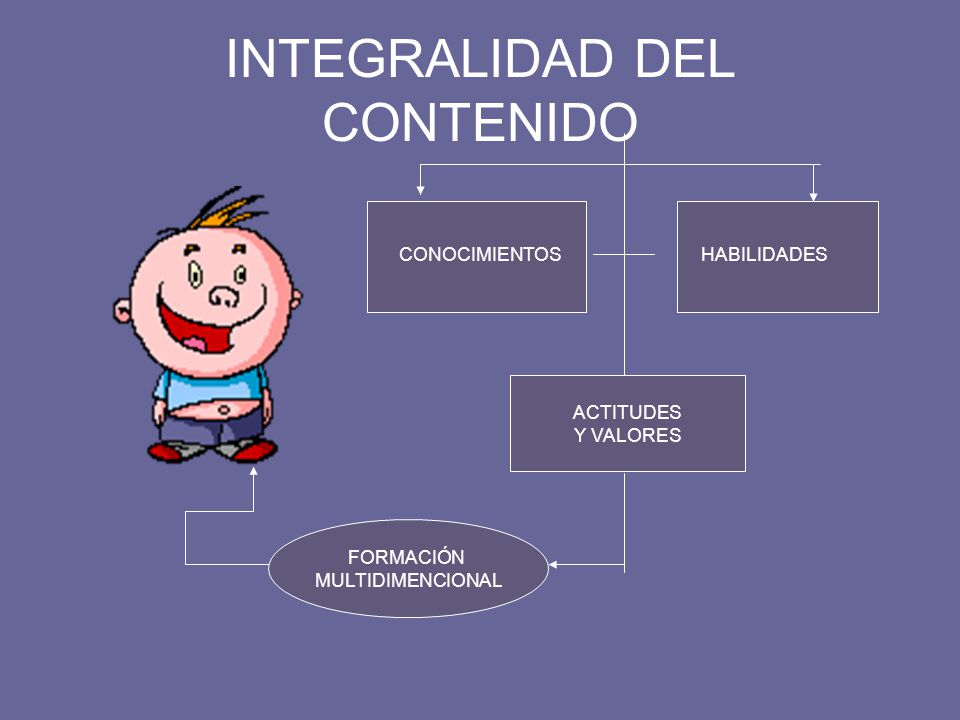 INTEGRALIDAD DEL CONTENIDO