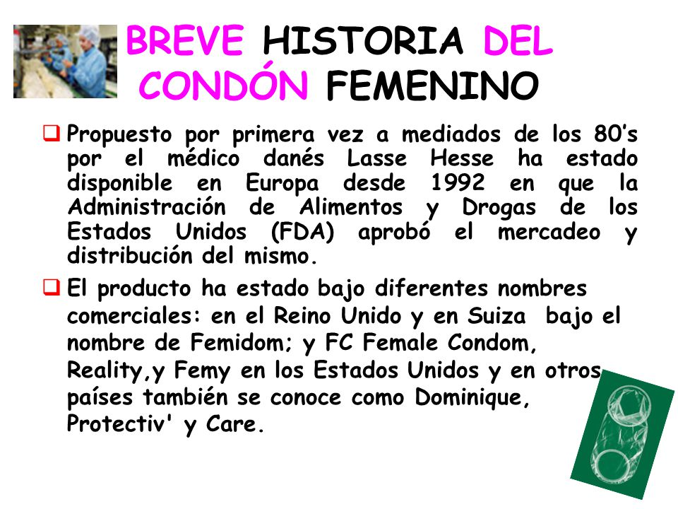 BREVE HISTORIA DEL CONDÓN FEMENINO