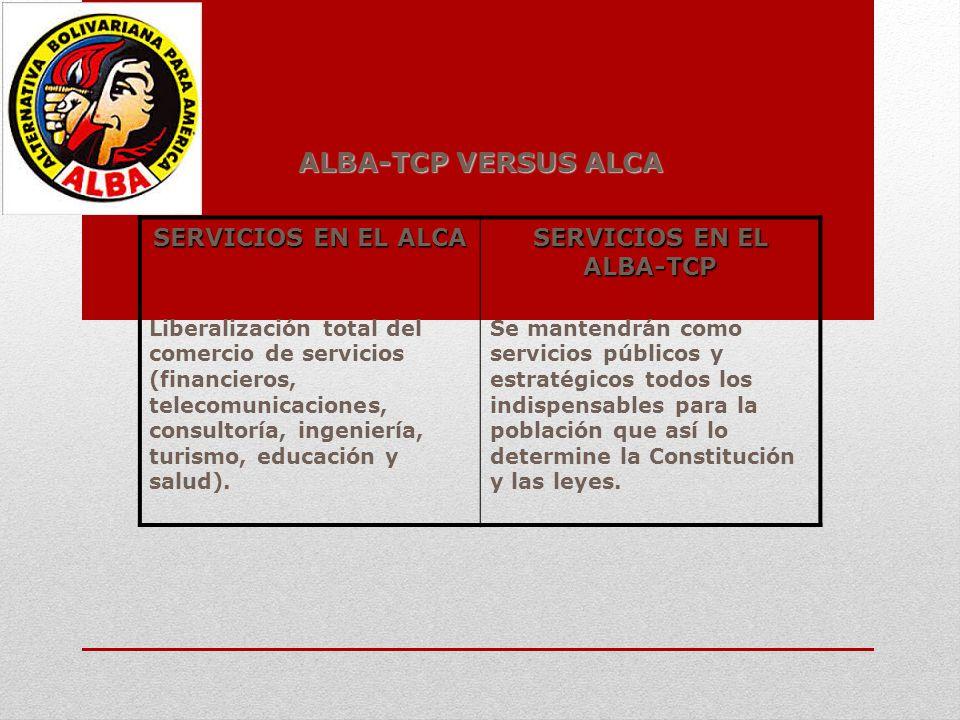 SERVICIOS EN EL ALBA-TCP