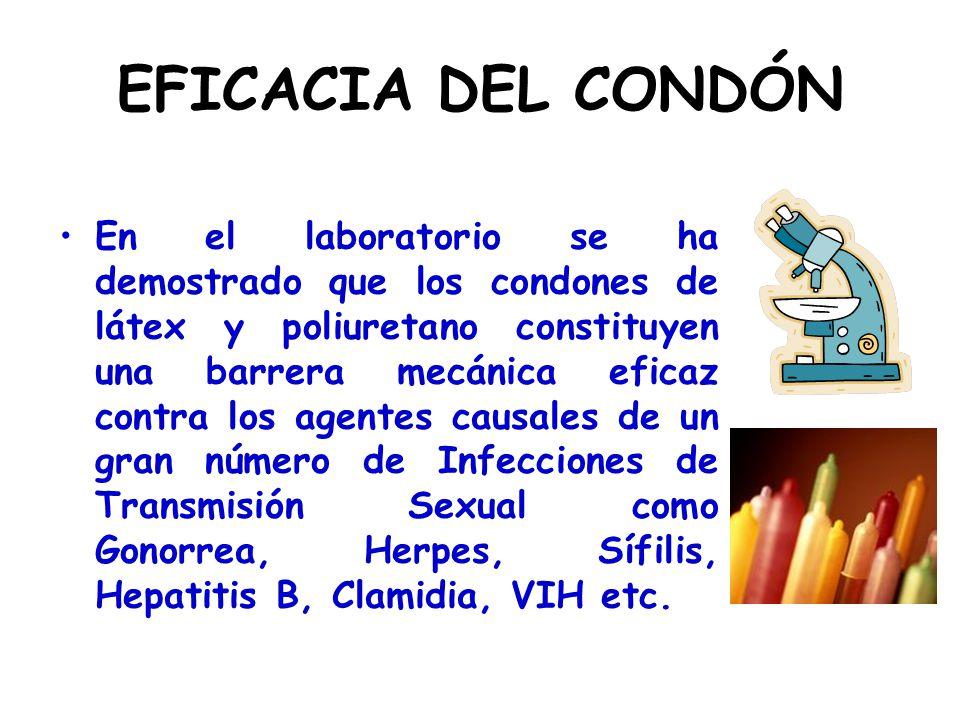 EFICACIA DEL CONDÓN