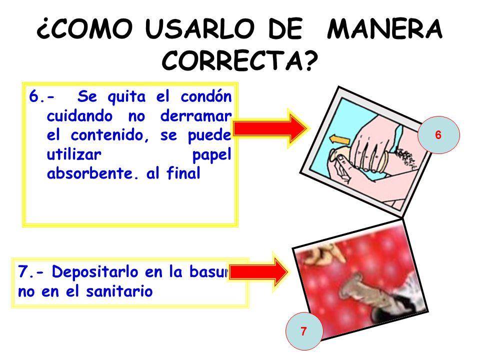 ¿COMO USARLO DE MANERA CORRECTA