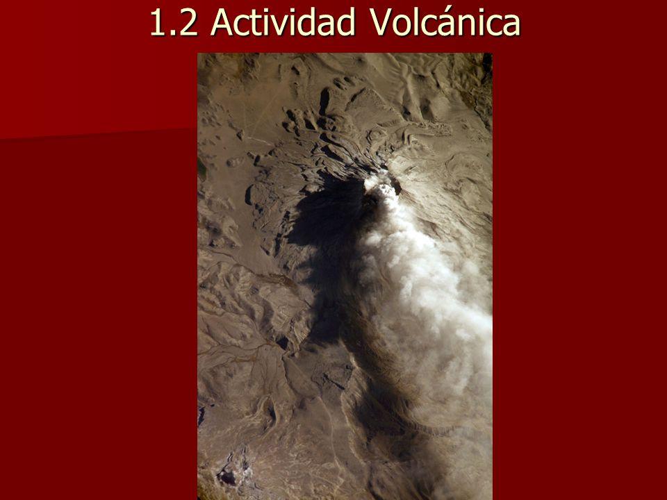 1.2 Actividad Volcánica