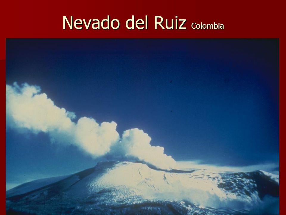 Nevado del Ruiz Colombia