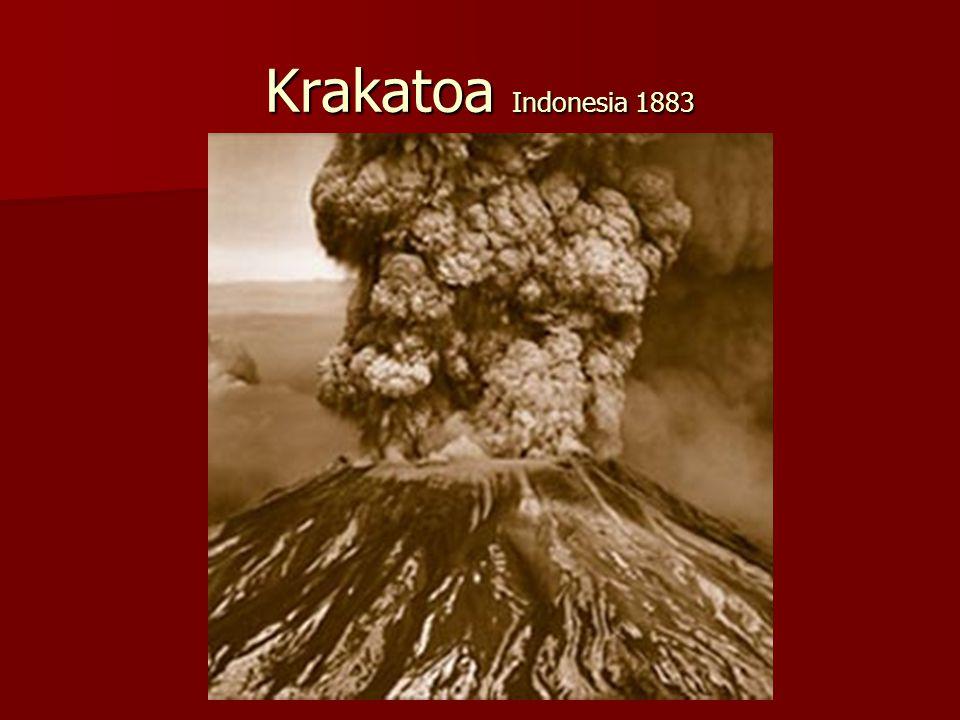 Krakatoa Indonesia 1883
