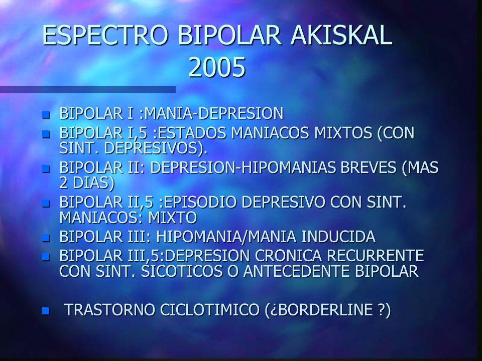 ESPECTRO BIPOLAR AKISKAL 2005