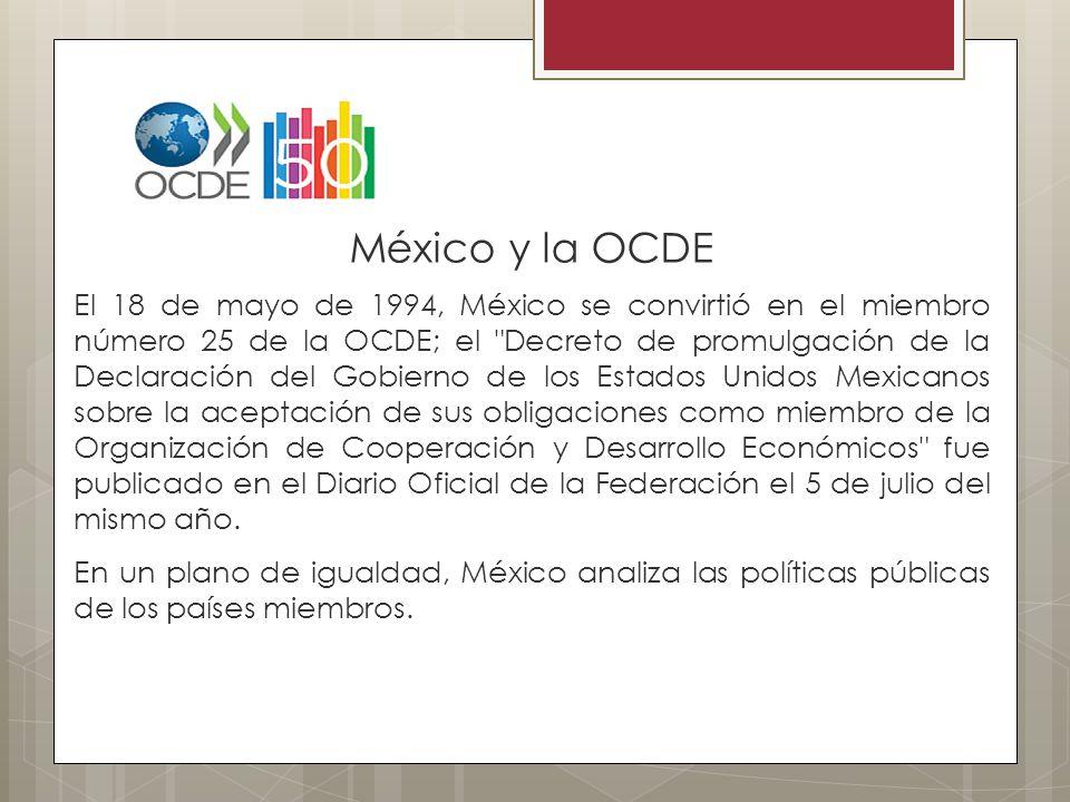 México y la OCDE