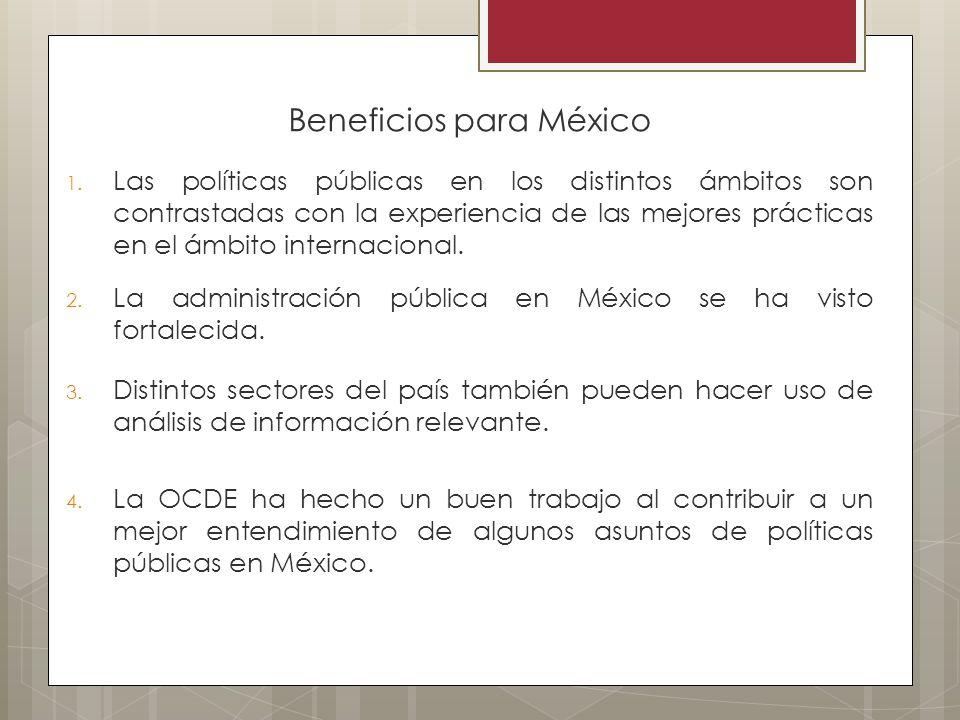 Beneficios para México