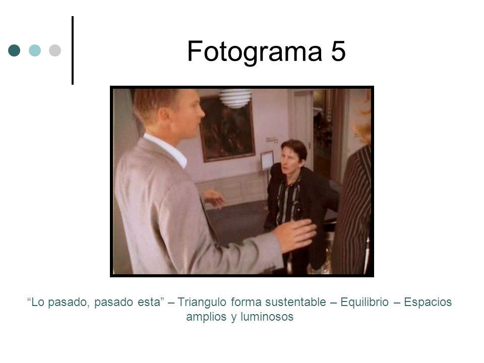 Fotograma 5 Lo pasado, pasado esta – Triangulo forma sustentable – Equilibrio – Espacios amplios y luminosos.