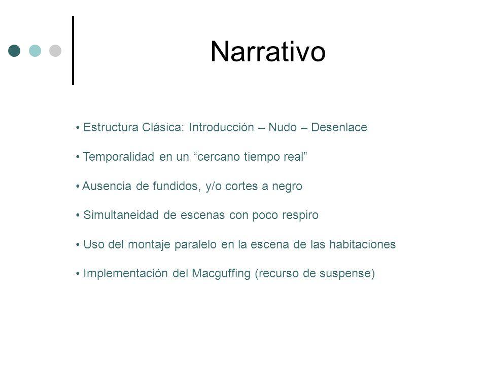 Narrativo Estructura Clásica: Introducción – Nudo – Desenlace