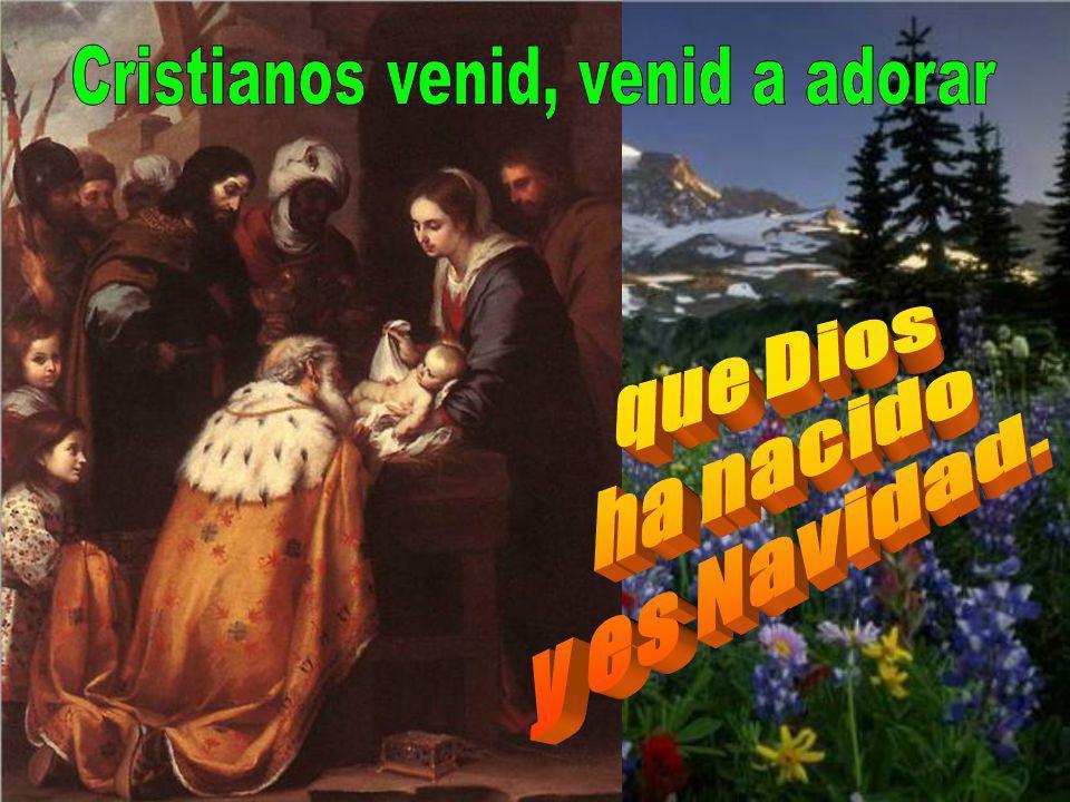 Cristianos venid, venid a adorar