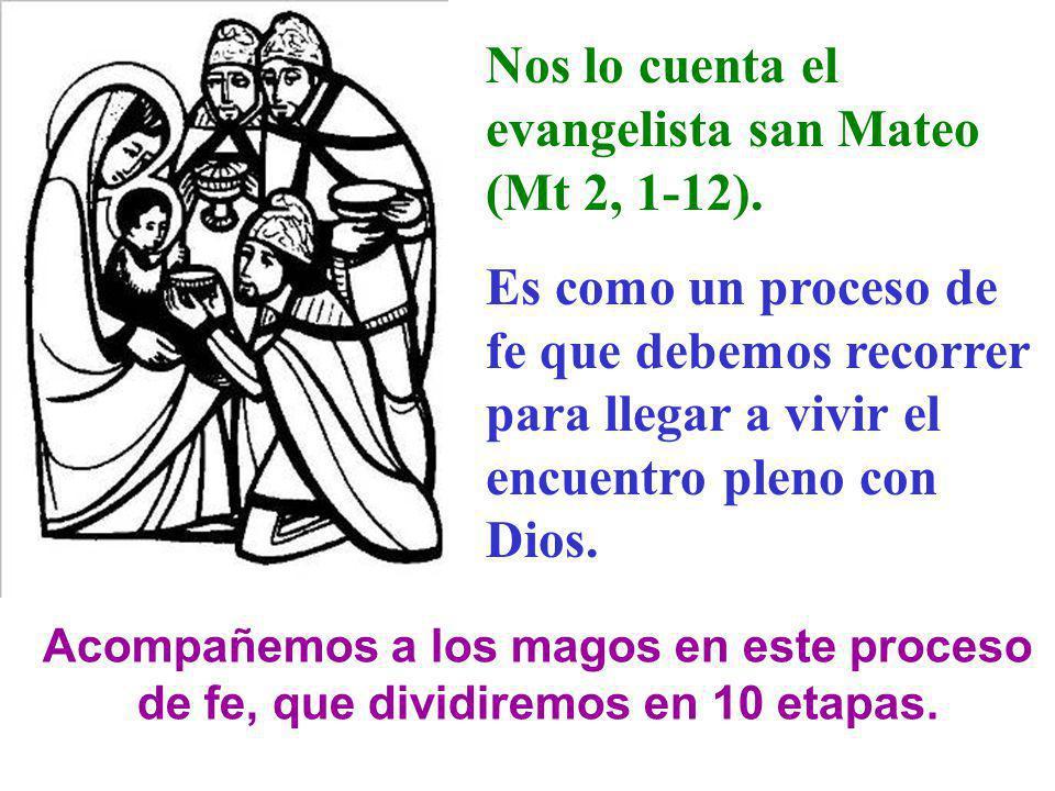 Nos lo cuenta el evangelista san Mateo (Mt 2, 1-12).