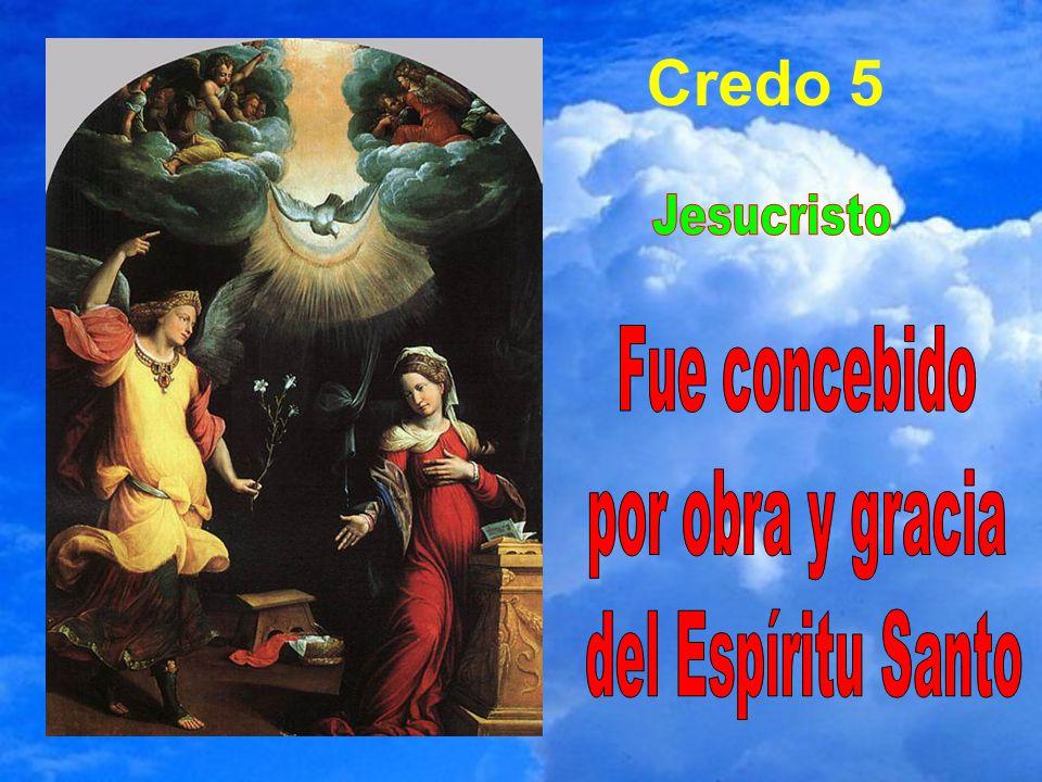 Credo 5 Jesucristo Fue concebido por obra y gracia del Espíritu Santo