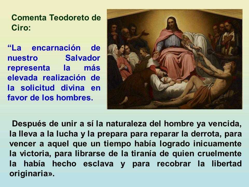 Comenta Teodoreto de Ciro: