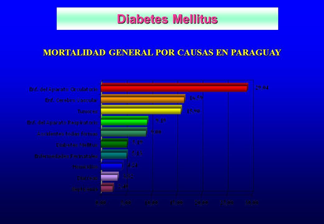 MORTALIDAD GENERAL POR CAUSAS EN PARAGUAY
