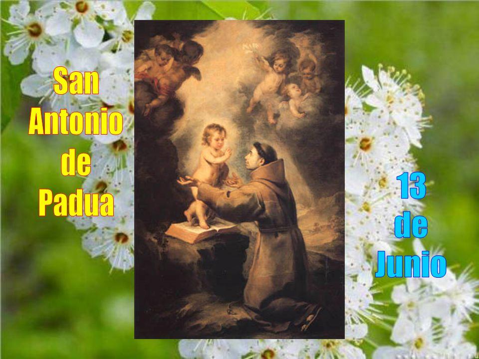San Antonio de Padua 13 de Junio