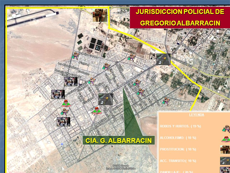 JURISDICCION POLICIAL DE