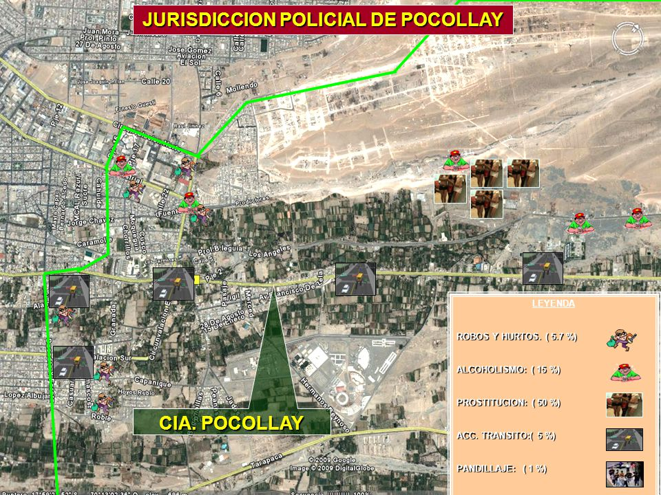 JURISDICCION POLICIAL DE POCOLLAY