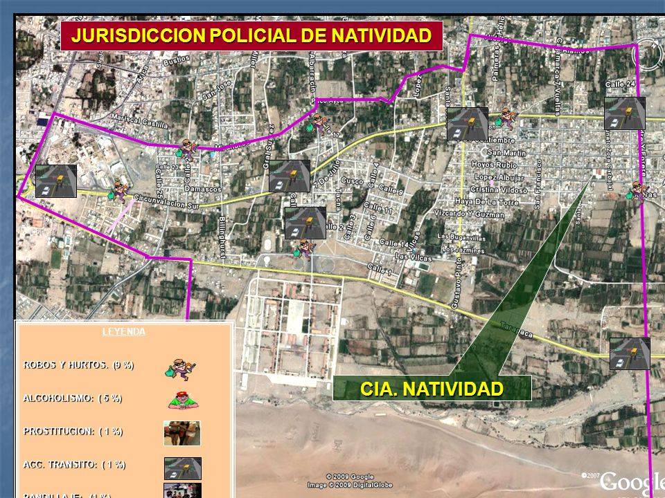 JURISDICCION POLICIAL DE NATIVIDAD