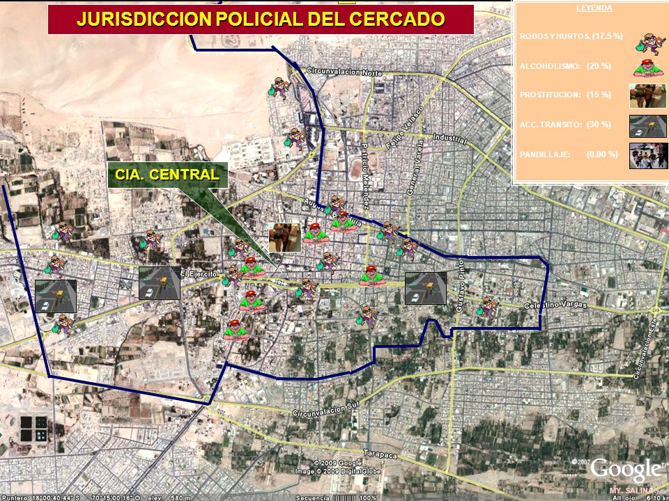 JURISDICCION POLICIAL DEL CERCADO