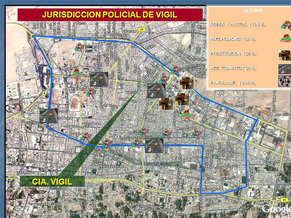 JURISDICCION POLICIAL DE VIGIL