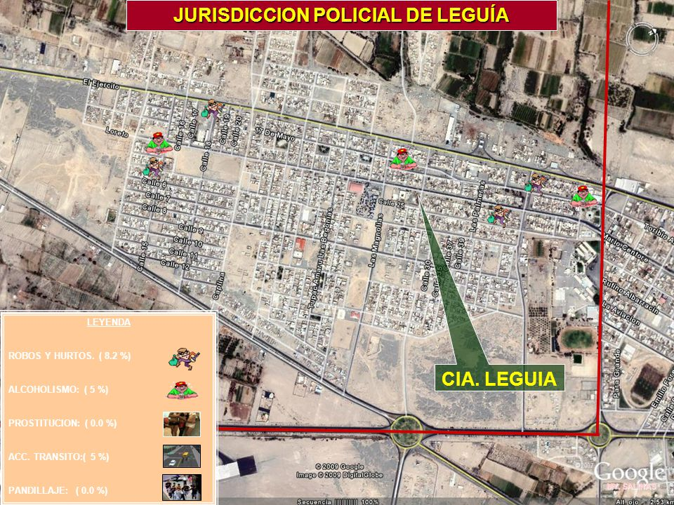 JURISDICCION POLICIAL DE LEGUÍA
