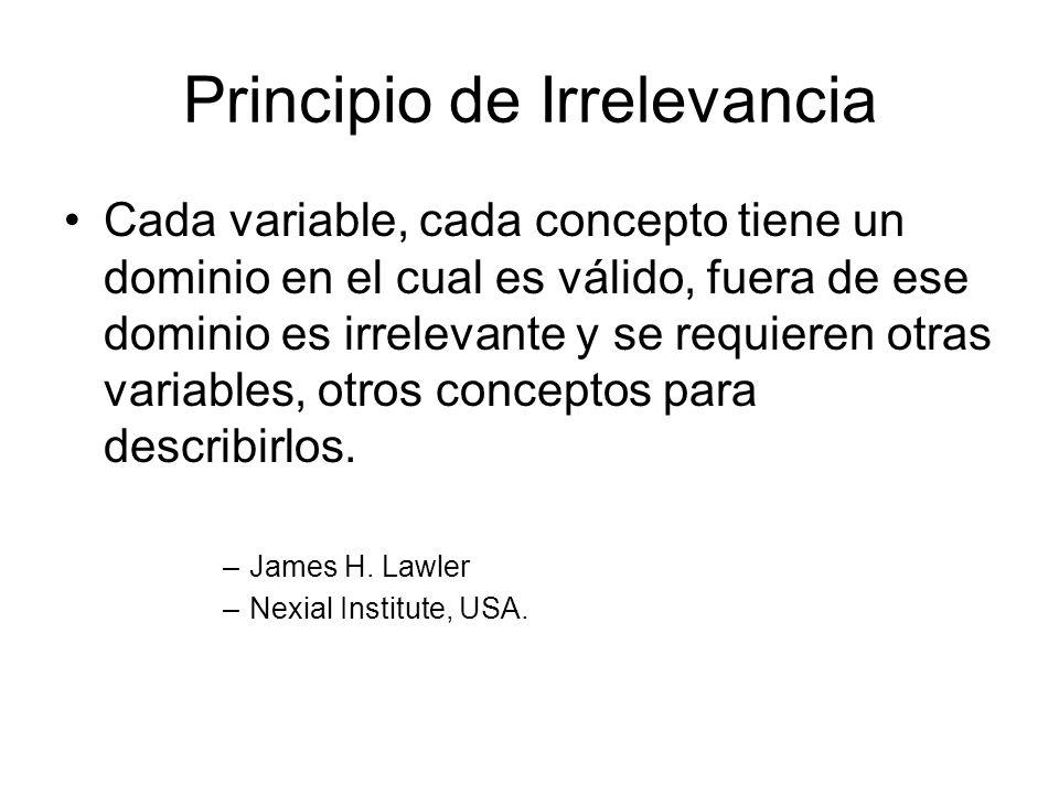 Principio de Irrelevancia