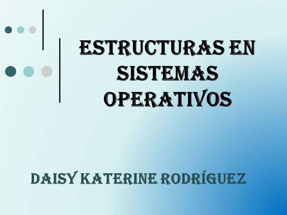Estructuras en Sistemas Operativos