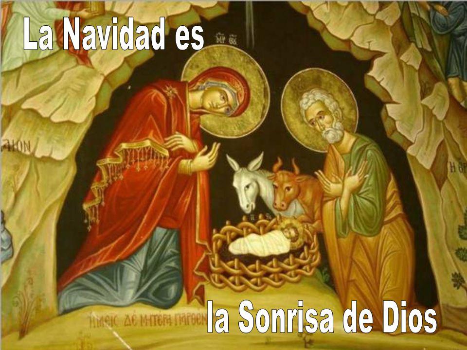 La Navidad es la Sonrisa de Dios