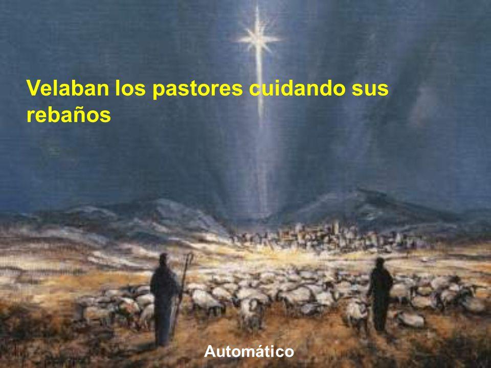 Velaban los pastores cuidando sus rebaños