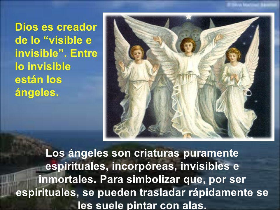 Dios es creador de lo visible e invisible