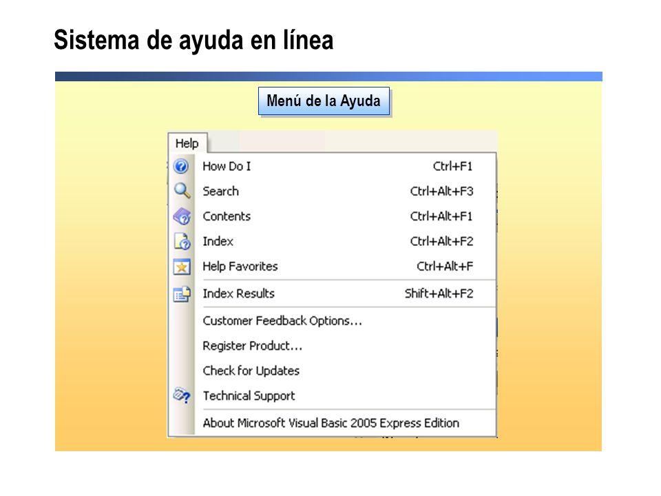 Sistema de ayuda en línea