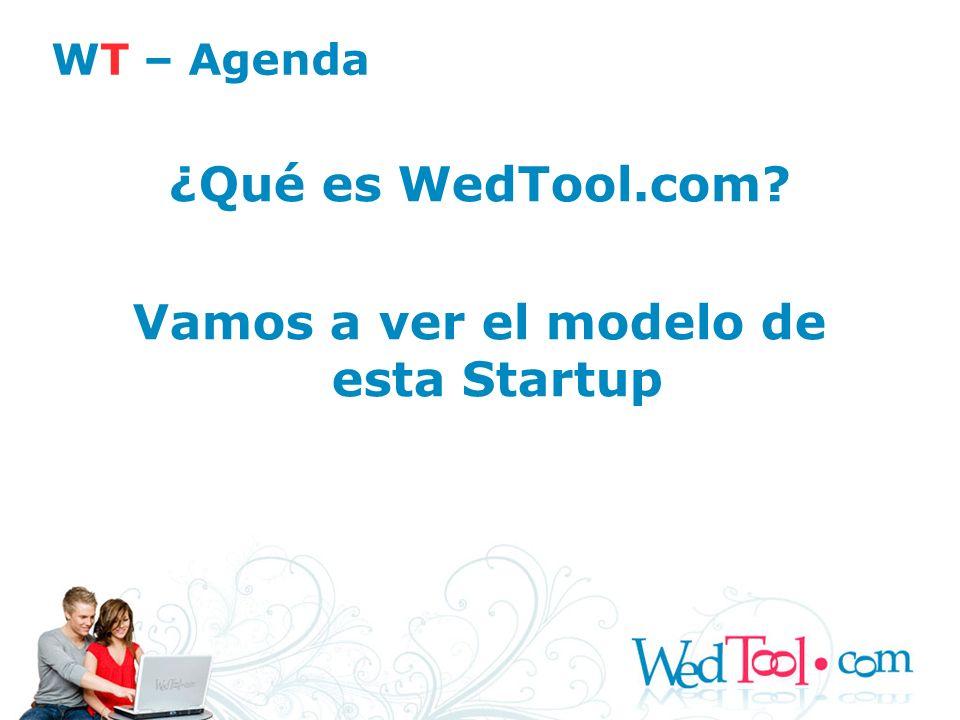 Vamos a ver el modelo de esta Startup