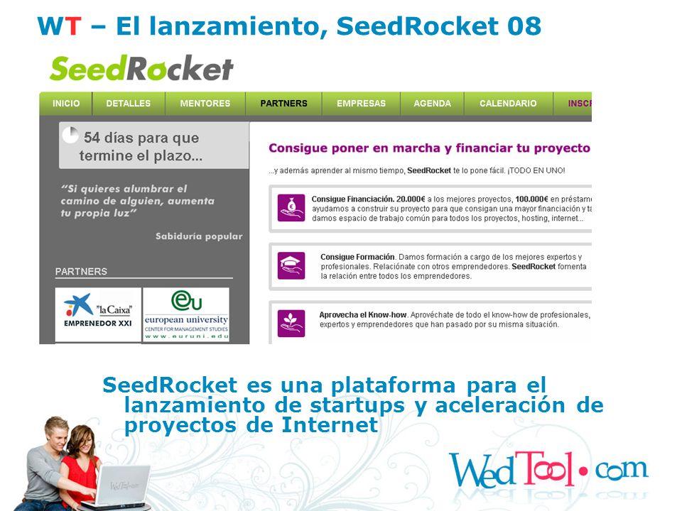 WT – El lanzamiento, SeedRocket 08