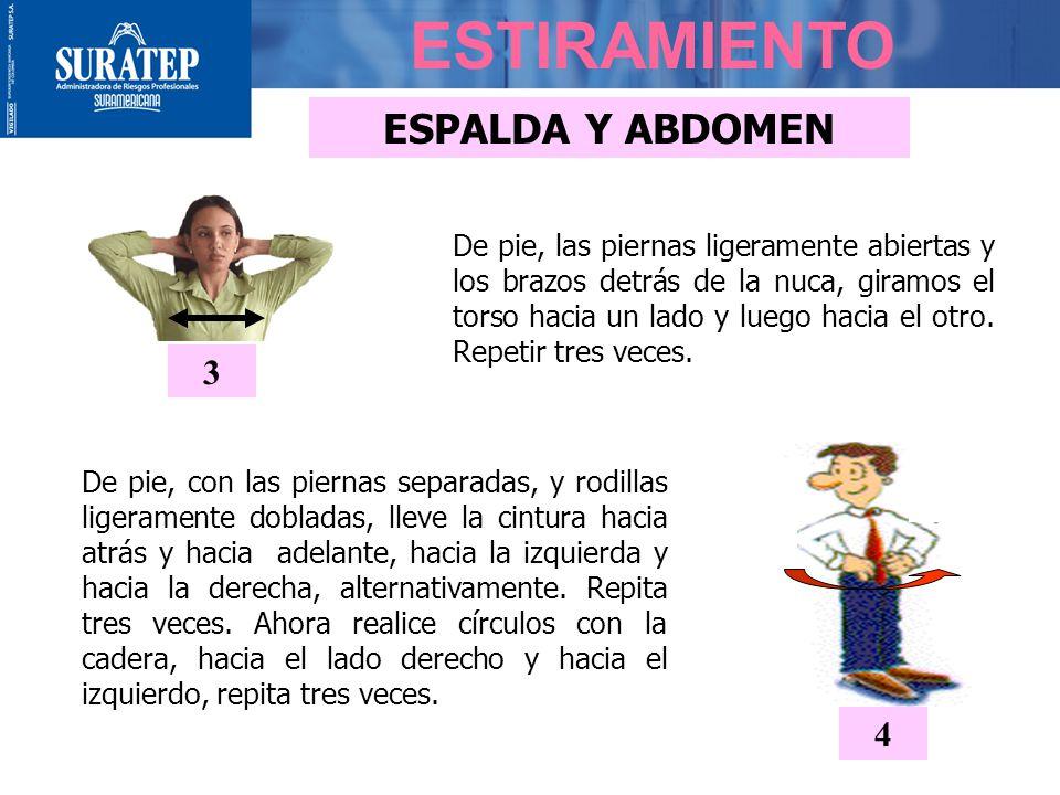 ESTIRAMIENTO ESPALDA Y ABDOMEN 3 4