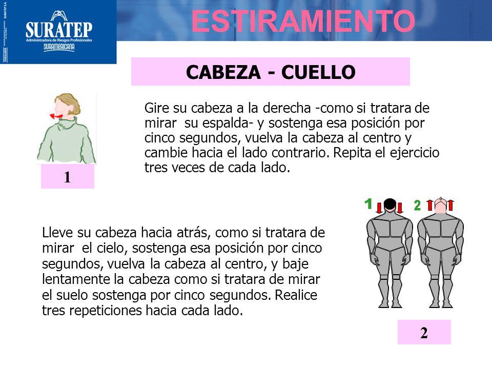 ESTIRAMIENTO 1 CABEZA - CUELLO 1 2