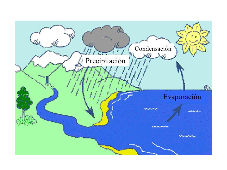 Condensación Precipitación Evaporación