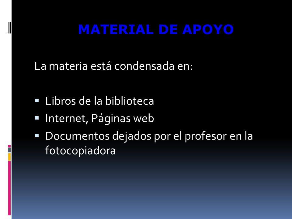 La materia está condensada en: Libros de la biblioteca