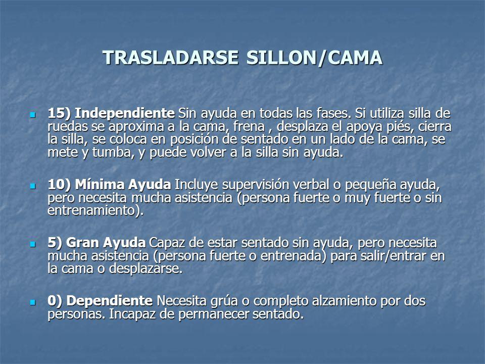 TRASLADARSE SILLON/CAMA