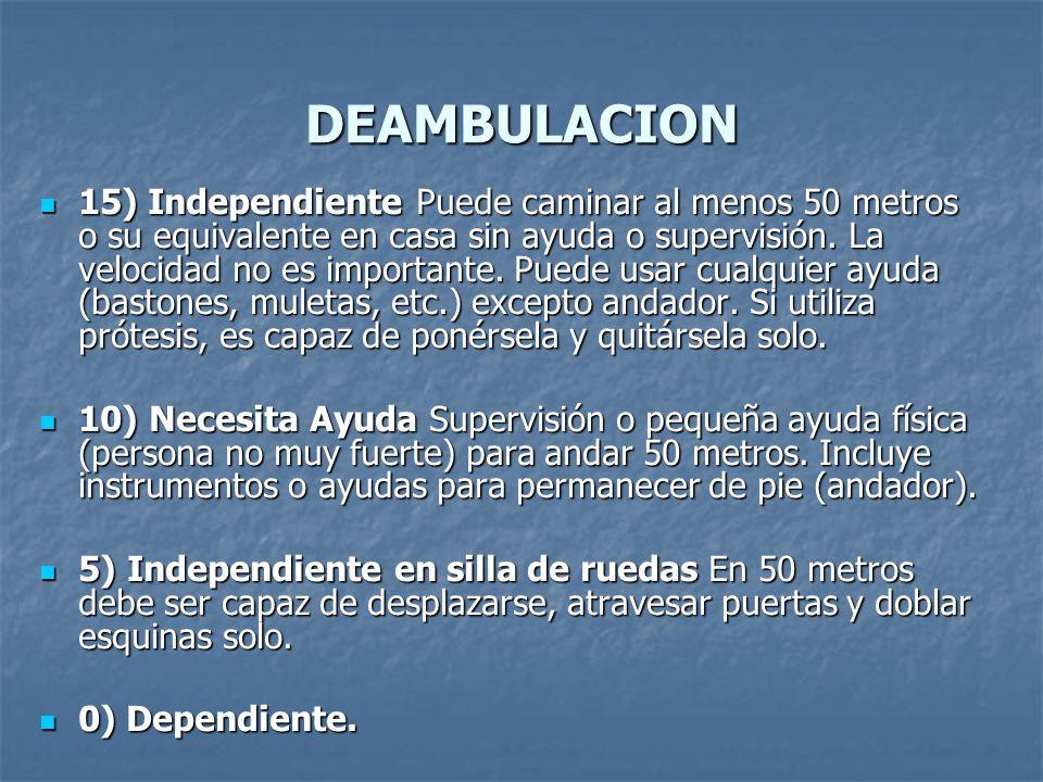 DEAMBULACION