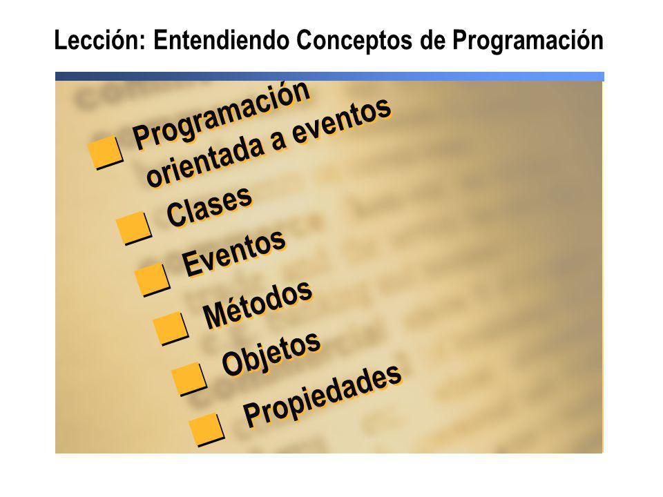 Lección: Entendiendo Conceptos de Programación