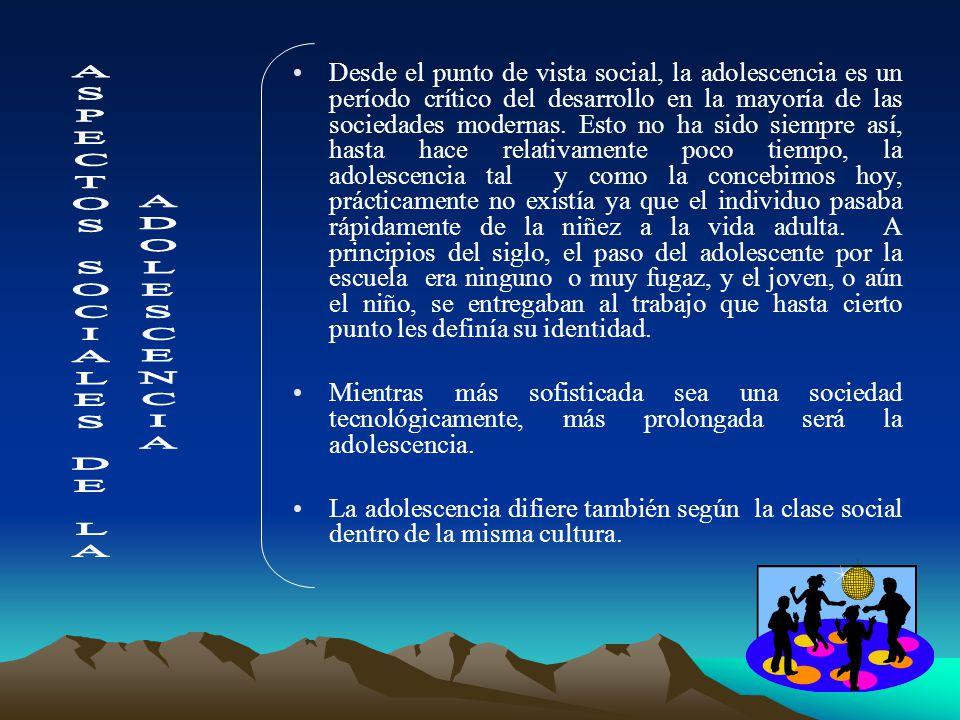 ASPECTOS SOCIALES DE LA
