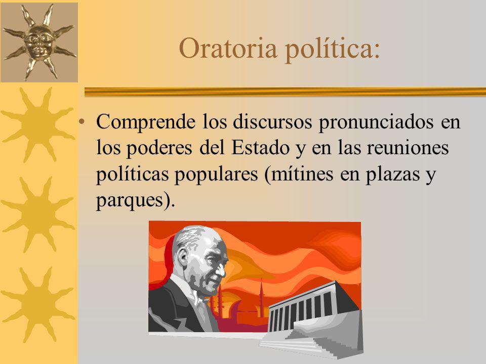 Oratoria política: