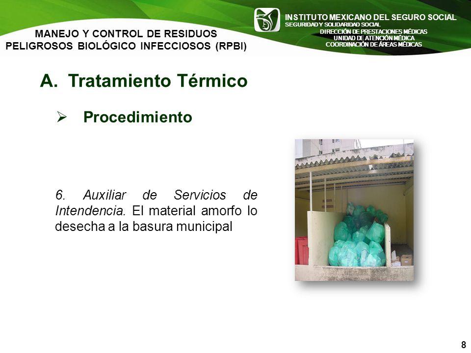 A. Tratamiento Térmico Procedimiento