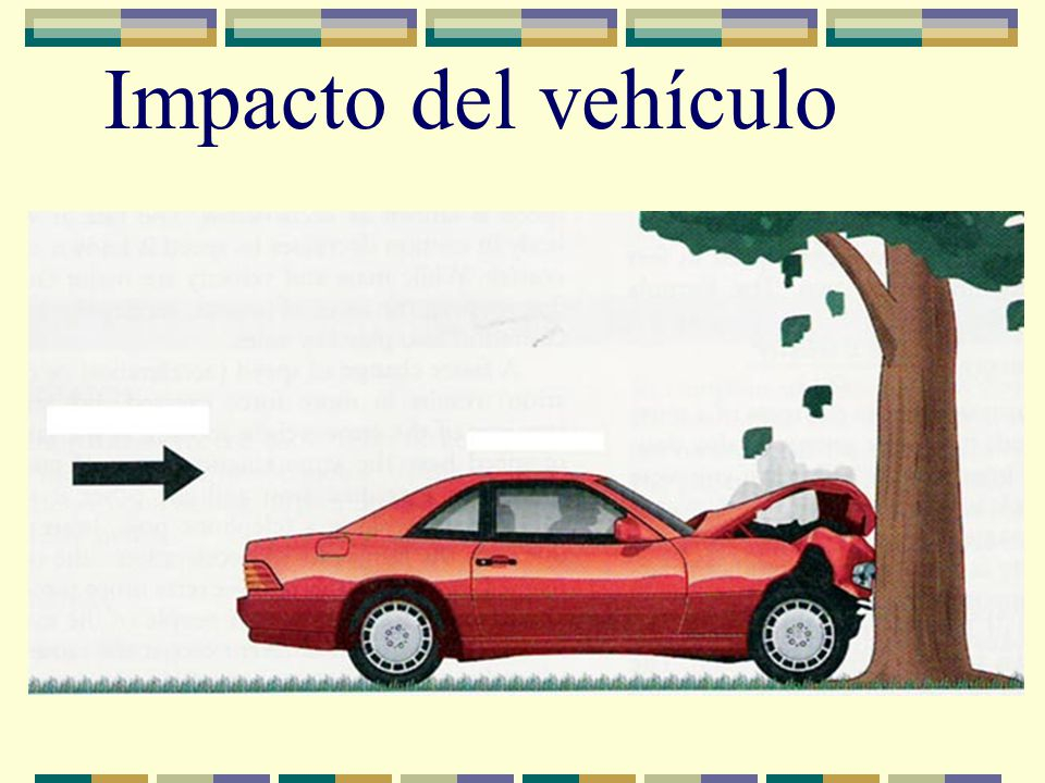 Impacto del vehículo