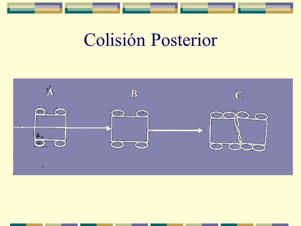 Colisión Posterior