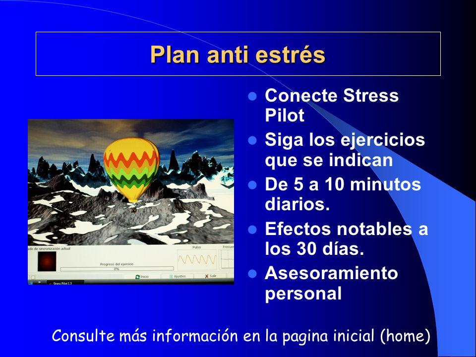 Plan anti estrés Conecte Stress Pilot