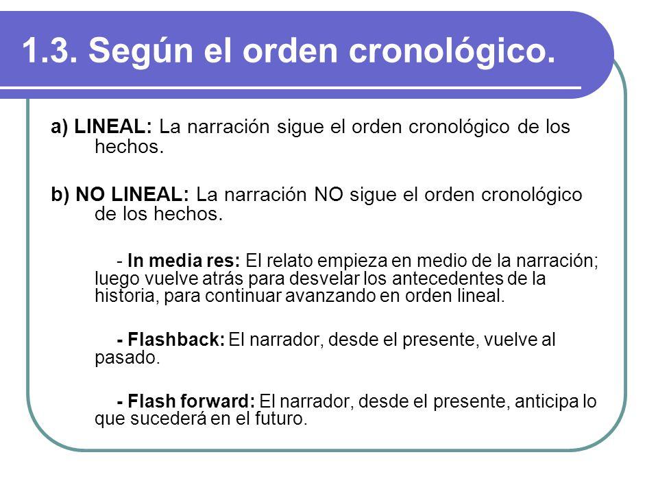 1.3. Según el orden cronológico.