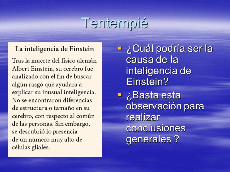 Tentempié ¿Cuál podría ser la causa de la inteligencia de Einstein