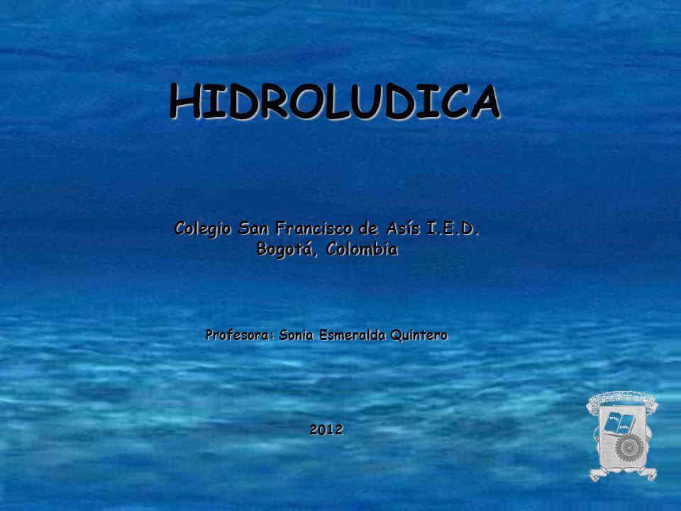 HIDROLUDICA Colegio San Francisco de Asís I.E.D. Bogotá, Colombia