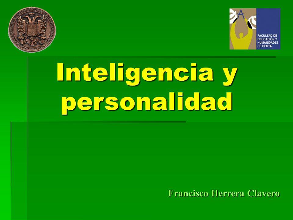 Inteligencia y personalidad